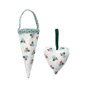 Joselyn green cornet set og 2 assorteret fra GreenGate - Tinashjem