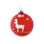 Joselyn red hanging ball glass fra GreenGate - Tinashjem