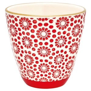GreenGate / Kelly red with gold / Cup