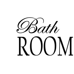Wallsticker / Bath Room