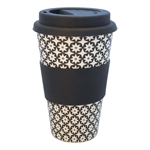 Travel mug Lara black fra GreenGate - Tinashjem