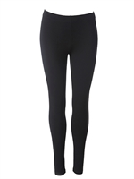 Leggings / Sort / lange / du Milde