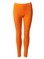 Leggings orange lange fra du Milde - Tinashjem