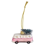 GreenGate / Mini van Glass Marley Pale Pink / Small