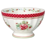 Mary Raspberry french bowl medium 10 cm fra GreenGate - Tinashjem