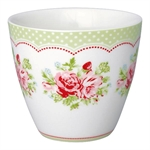 Mary White latte cup fra GreenGate - Tinashjem