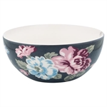 GreenGate / Maude Dark Grey / Cereal bowl 14 cm