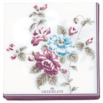 GreenGate / Maude White / servietter small