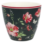 GreenGate / Meadow Black / Latte Cup