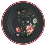 Meadow black small plate fra GreenGate - Tinashjem