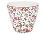 Miley White latte cup fra GreenGate - Tinashjem