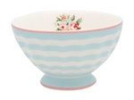 Nellie Pale Blue French Bowl 10 cm medium fra GreenGate - Tinashjem