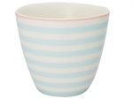 Nellie pale blue latte cup fra GreenGate - Tinashjem