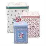 Nicoline White square box set 3 stk. fra GreenGate - Tinashjem