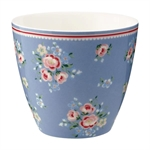 Nicoline Dusty Blue latte cup fra GreenGate - Tinashjem