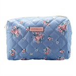 Nicoline Dusty Blue wash bag large fra GreenGate - Tinashjem