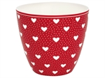 Penny Red latte cup fra GreenGate - Tinashjem