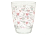 Penny White water glass fra GreenGate - Tinashjem