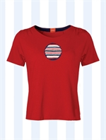 Petras Circles and Stripes T-shirt fra du Milde - Tinashjem