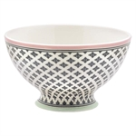 GreenGate / Sasha Dark Grey / soup bowl 15 cm