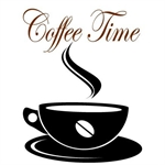 Wallsticker / Coffee Time
