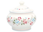Sonia white sugar pot fra GreenGate - Tinashjem