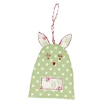 Rabbit spot pale green egg warmer fra GreenGate - Tinashjem