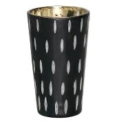 GreenGate / Tealight black with cutting / Large 12 cm