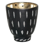 GreenGate / Tealight black with cutting / 9 cm