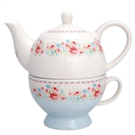Tess white tea for one fra GreenGate - Tinashjem