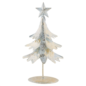 GreenGate / Tree Gold small / with shimmer standing