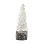 Tree white with wood base small fra GreenGate - Tinashjem