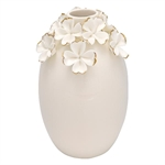 GreenGate / Vase Flower Large / With Gold