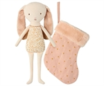 Bunny angel in stocking powder fra Maileg - Tinashjem