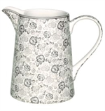 GreenGate / Luise warm grey / Kande 1,0 liter
