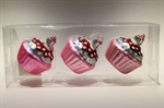 Cup Cake Pink / 3 stk