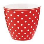 Spot Red latte cup fra GreenGate -Tinashjem