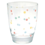 Water glass multi dots white fra GreenGate - Tinashjem